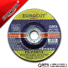 EUROCUT Abrasive Metal Grinding Tools Quality Cutting Discs