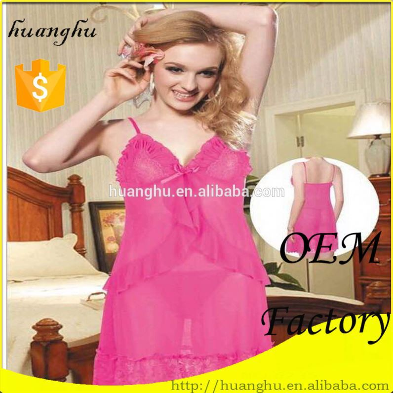 Colorful fancy sexy baby doll lingerie xxl