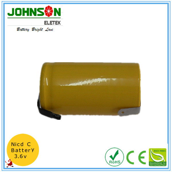 Rechargeable 6v 1800mah ni-cd sc battery pack