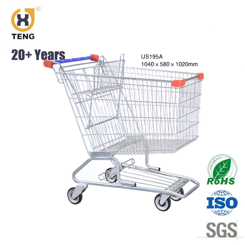 American style Supermarket Shopping Trolley Shopping Cart