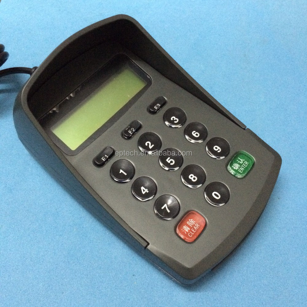 DP950 USB Bluetooth Support Windows Linux POS Pin Pad For Banking