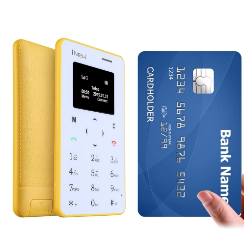free sample free shipping china supplier mobile phone iNew Mini 1 Ultrathin Card Phone unlocked 2G mobile cell smart phone