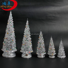 Colorful acrylic crystal Christmas tree LED lighted Christmas tree