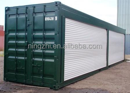 portable container SHOP/container store/double store with guards