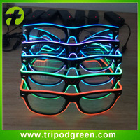 EL Wire Rave Glasses Light Flashing