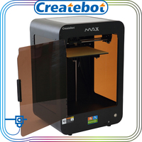 Made in CHina 3d printer createbot MAX black color 3d laser printer for sale