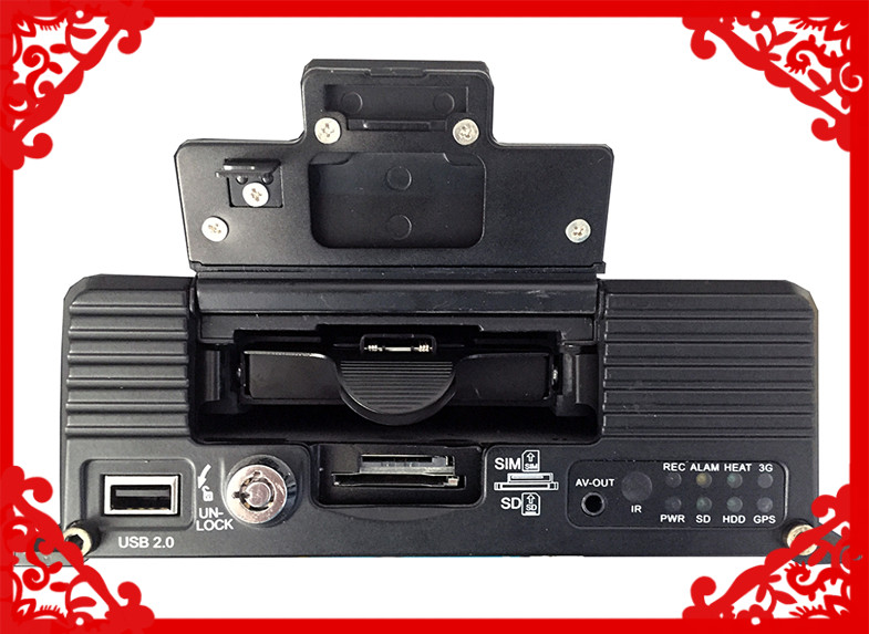 2ch hdd mdvr Factory price 2 channels SD card WiFi GPS 3G Mobile DVR