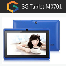 Cheap tablet M0701 7inch custom tablet pc your brand logo 3g phone tablet sim unlocked