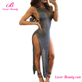 Wholesale Long Split Sexy Cover Up Beach Dress