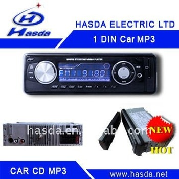 1DIN standard size car MP3 player H-907 , AM/FM/Aux/SD/USB