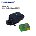 Lithium battery 48v 13.6ah 13s4p 652wh electric bicyle battery pack victpower