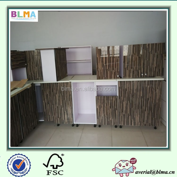 High Kitchen Cabinet 2 Doors 80 cm Glossy