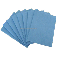 Lint free disposabel spunlace nonwoven dry industrial cleaning wipes