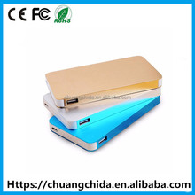 Universal rechargable 20000mah power bank for smart phone