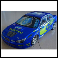 2014 new product 1:10 190mm rc auto electric nitro toy car body shell hpi for flat car