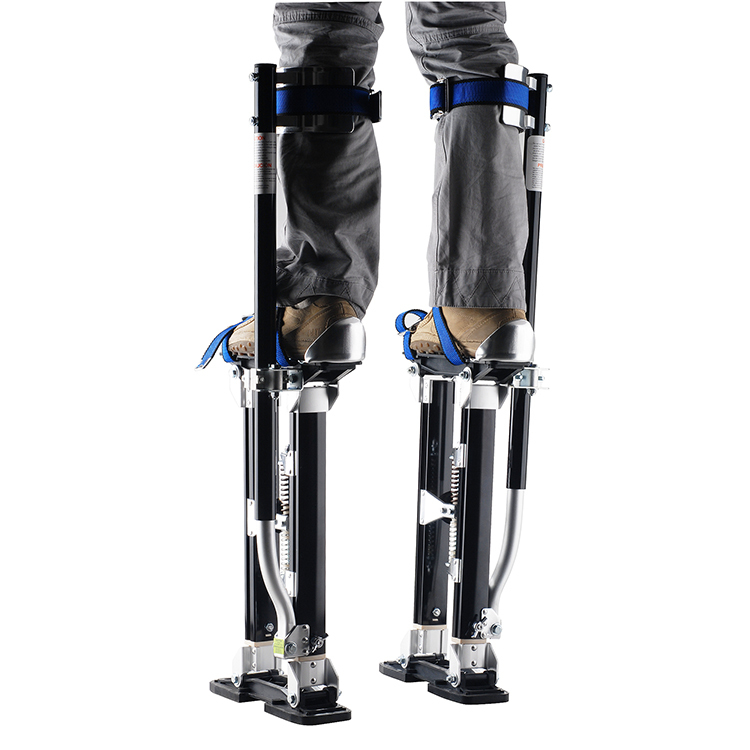 Black Adjustable Drywall Stilts1116