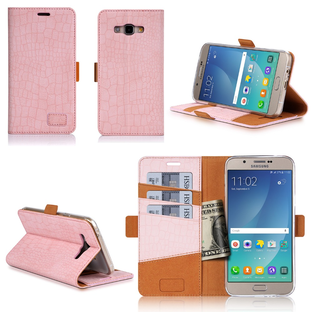 2016 New Arrival Smart Leather Phone Case For Samsung Galaxy A8