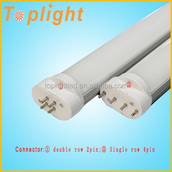 New Model High lumens 4 pins SMD2835 2G11 led tube 18w