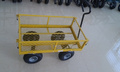 Garden tools garden cart removable sides