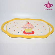 ceramic ice cream tray decorate indian wedding trays