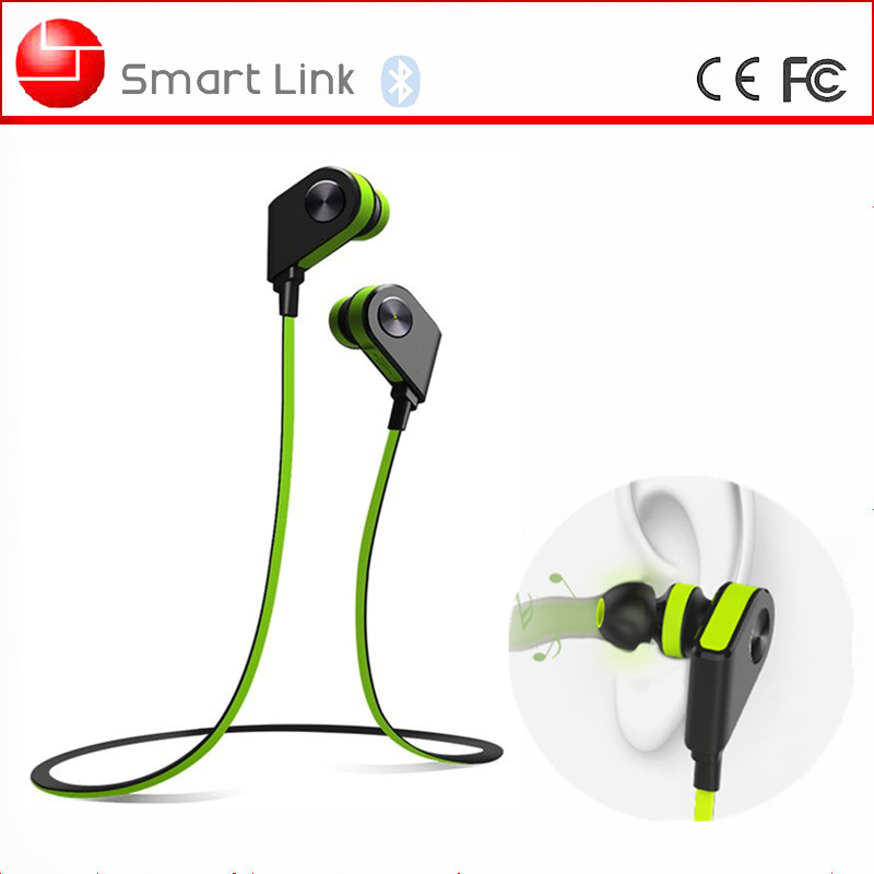 Flat Cable Lightweight Mini In-ear Bluetooth Headset For Bicycle Helmet