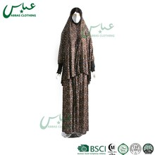 ABBAS brand New arrival kaftan DUBAI women dress kaftan muslim abaya Ladies Wholesale Muslim indonesian dresses