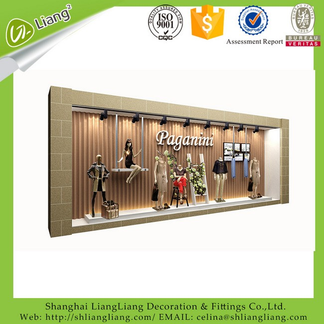 electronic shop decoration/shop interior design
