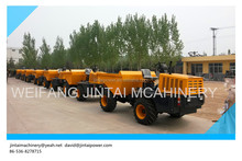 3Ton 4x4 hydraulic tipping site dump truck with good performance, good sale.