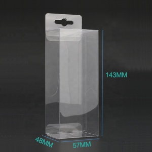 Transparent Biodegradable PET Display Plastic Box Packaging Folding Box PVC Clear Plastic Packaging Box