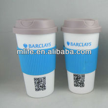 promotion cheap pp cup with lid