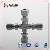 Alibaba com 316 Stainless Steel DIN2353 Hydraulic Union Cross