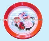 "enamel tray round tray enamel ware""double happiness"""