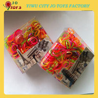 Dropship Wholesale Loom Band with PVC BOX+S-clip +hook+Y shape woven