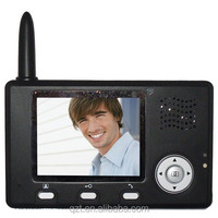 "digital door viewer camera 3.5"" screen 2.4Ghz wireless peephole viewer with motion detection"