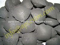 Compressed Pillow Shaped Charcoal Briquettes