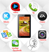 7 inch quad core dual sim tablet factory reset android tablet pc 3g phone android tablet 7 inch