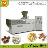 2016 new design directly puff snack food extruder machine with big capacity,five stars service,unique design