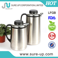 Screw stopper 1.9l stainless steel insulated water jug straight body (JSUD)