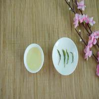 Health Chinese green tea of Cuifeng type with chestnut fragrance