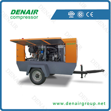 70kw Mobile Air Compressor For Machine
