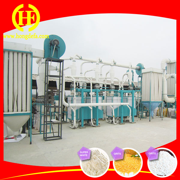 Corn flour mill machine/samolina flour milling plant for Uganda