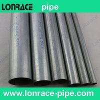 galvanized iron pipe/tube for building structure, greenhouse frame, scaffolding