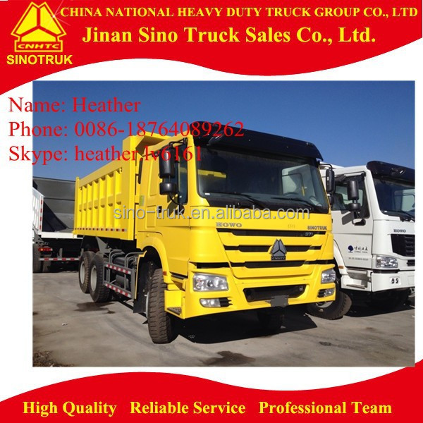 30T Loading Capacity Howo 6x4 371HP Dumper Truck Vehicle