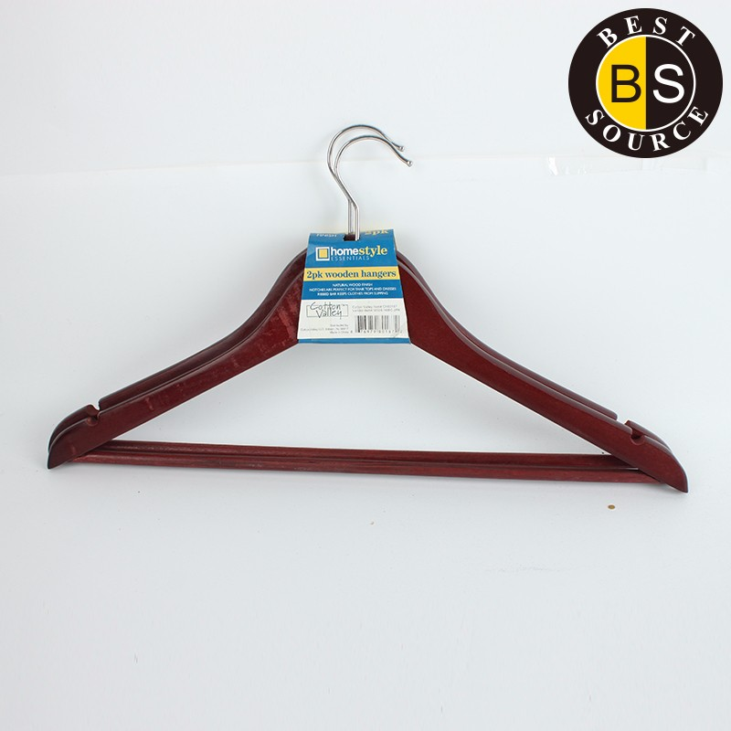 Hotel Dry Cleaning Wood Cloth Hanger 17109-1