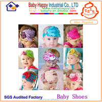 Fashion 2014 Cute Design Feather Baby Headband Wholesale