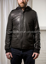 Banana Prince Genuine lambskin leather jacket for men with YKK zipper