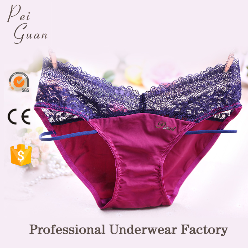 costumized breathable new fashion underwear for sexy lady and girls