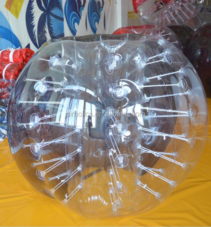 HOT!!PVC/TPU inflatable foot ball,soccer bubble