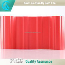 Dark Red,Terra_Cotta And Deep Green Color Laminated Roofing Materials Spanish Tile