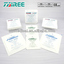 sterile compressed gauze swabs